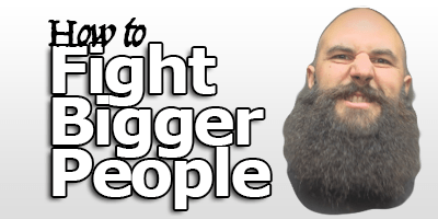 training course on how to fight bigger people product
